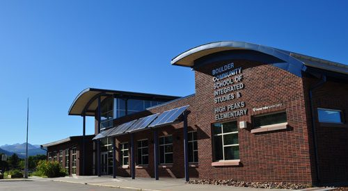 Small photo of Aurora Elementary School in Colorado