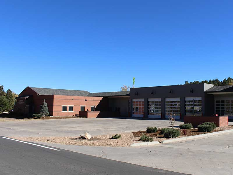 Photo of Larkspur Fire Station 161 in Colorado