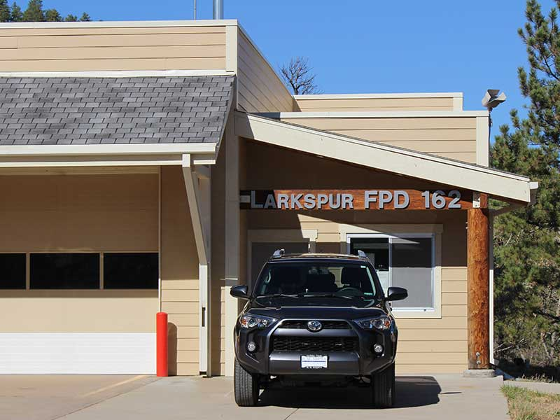 Photo of Larkspur Fire Station 162 in Colorado