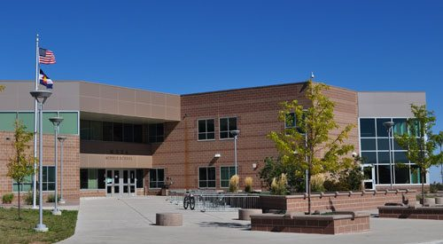 Small photo of Mesa Middle School in Colorado