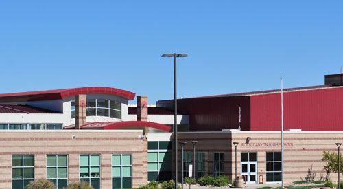 Small photo of Rock Canyon High School in Colorado